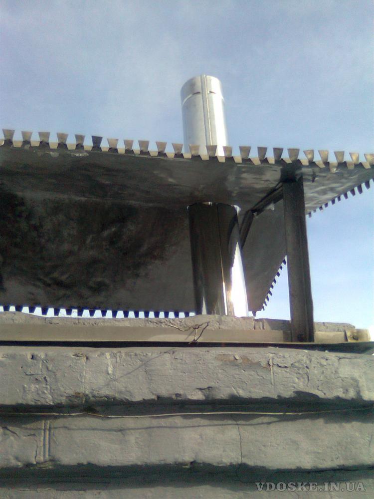 #Гильзовка дымоходов из нержавейки в Черкассах