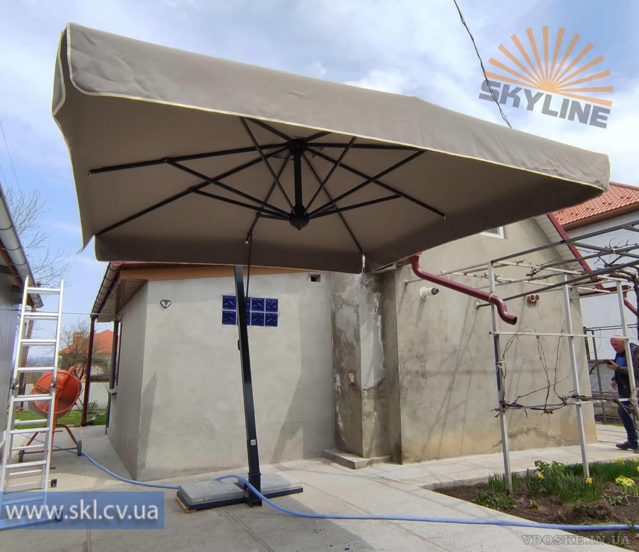 Уличные солнцезащитныезонтыScolaro.Зонты для кафе и террас