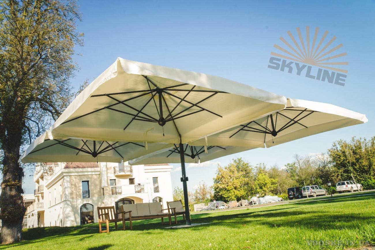 Уличные зонты для кафе, ресторанов, сада Scolaro