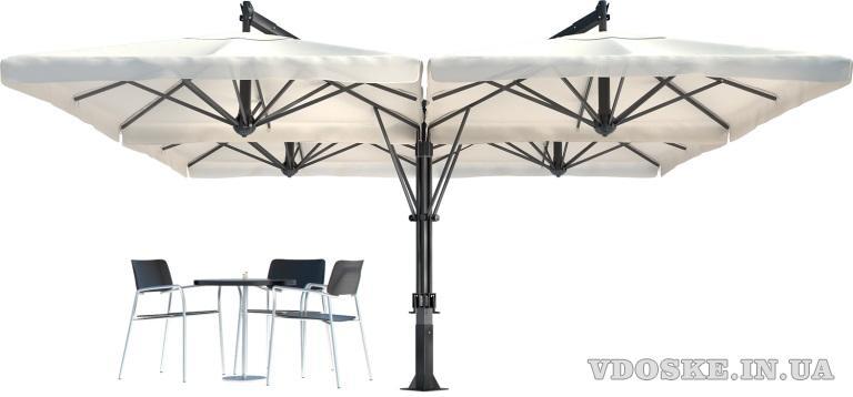 Итальянские уличные зонты Scolaro. Зонты для террас