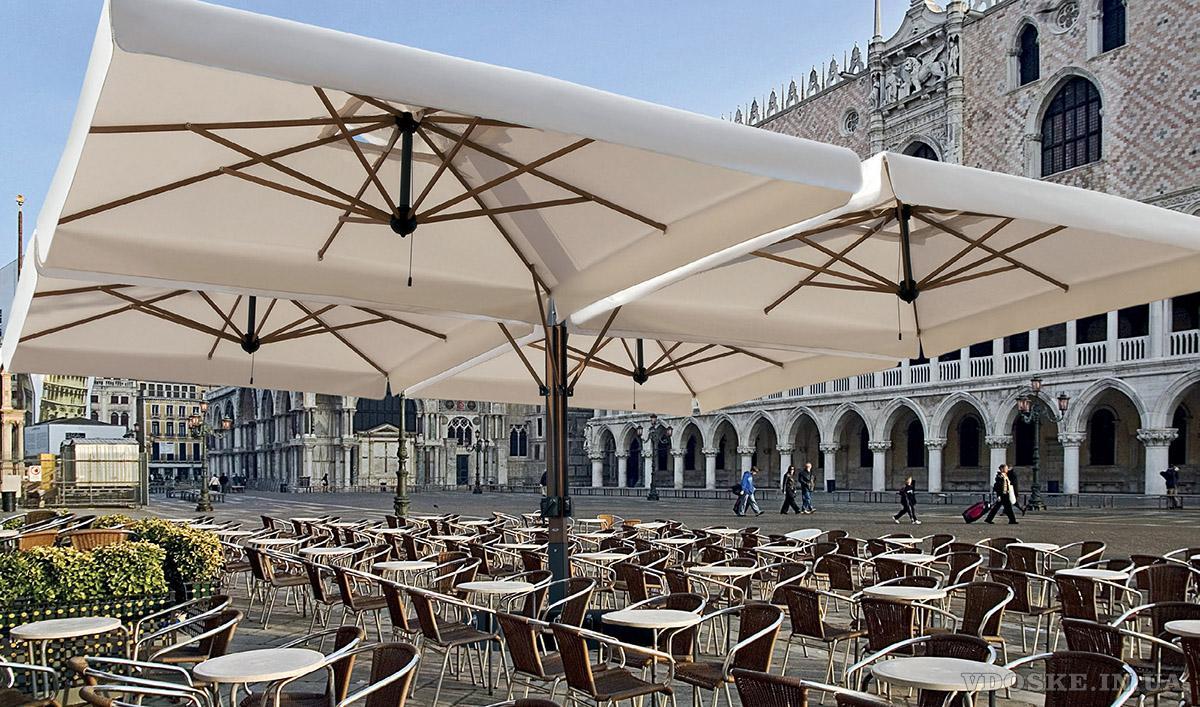 Зонты для террасScolaro. Уличные зонтыИталия