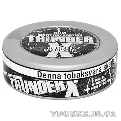 Снюс Тандер, Thunder X slim