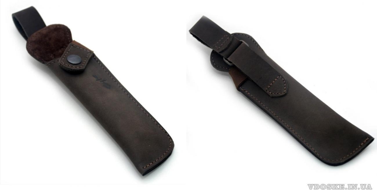 Чехол для ножа кожа рэтро Крейзи 14*4 см