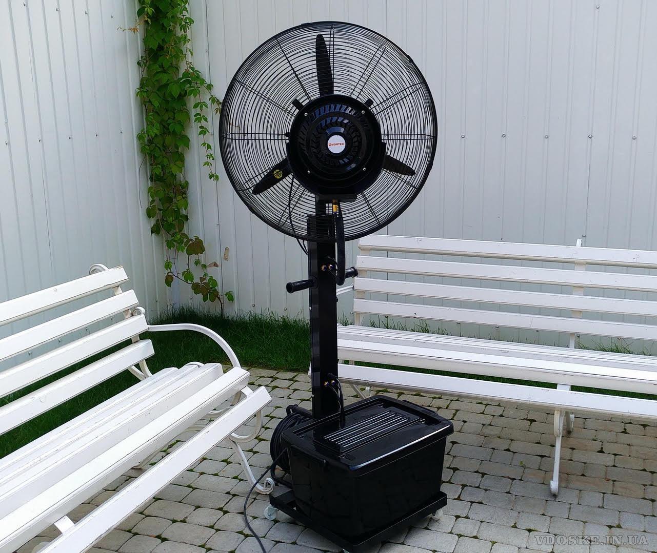 Вентилятор-увлажнитель для летних террас