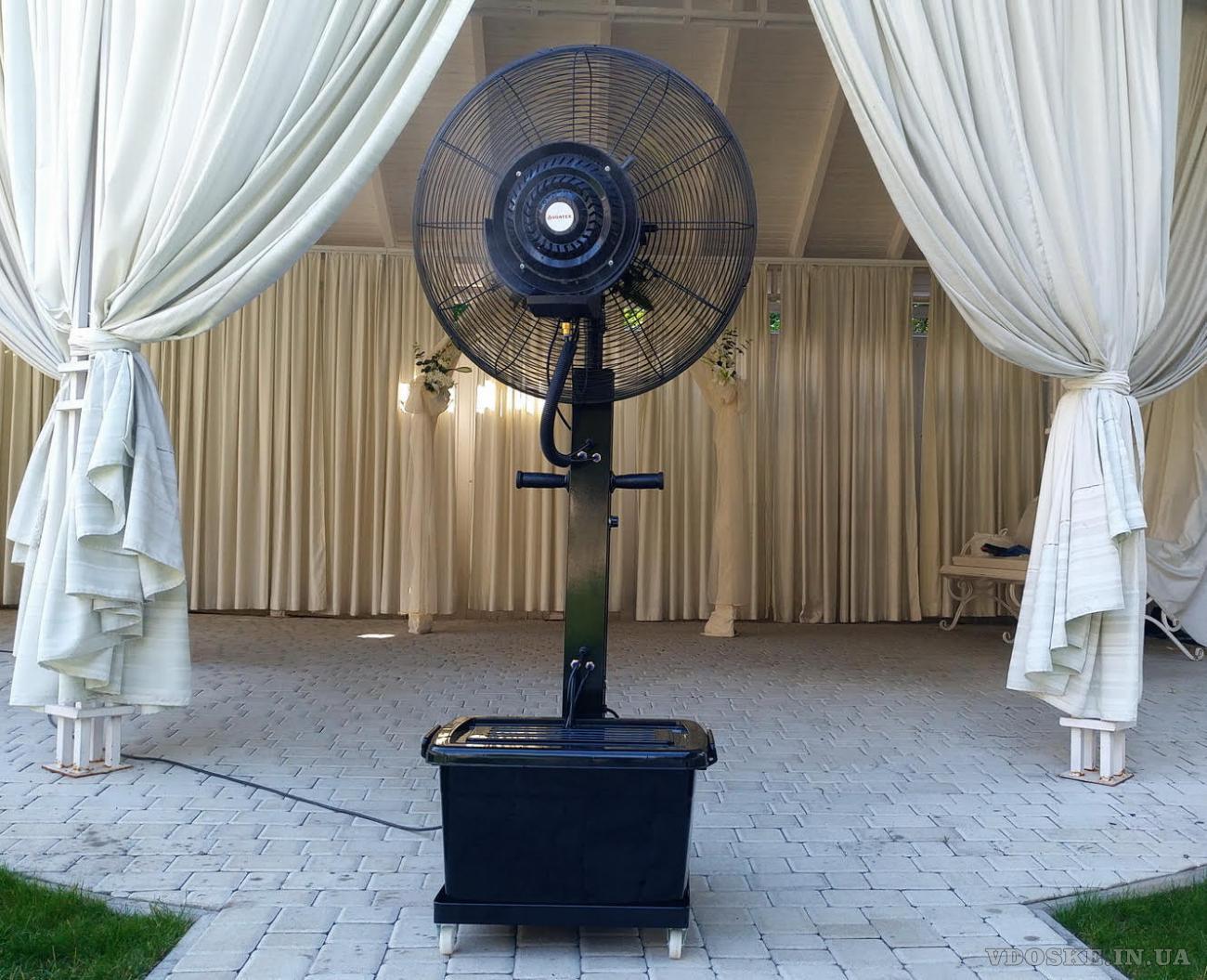 Переносной вентилятор-увлажнитель для открытыхплощадок