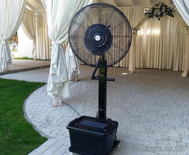 Вентилятор, увлажняющий воздух. Туманообразование