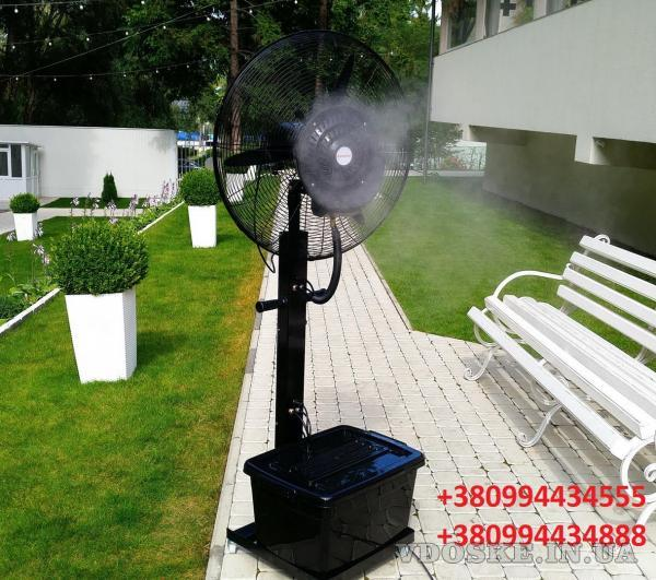 Переносной увлажнитель воздуха (вентилятор)