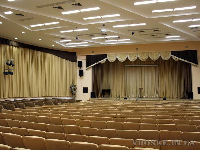Отделочные работы и оформление зрительных залов