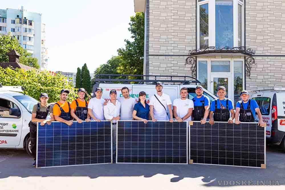 Солнечные станции под ключ в Одессе