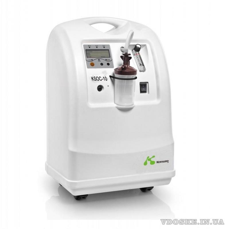 Кисневий концентратор  (Oxygen Concentrator) KSOC-5 на 10 л на одного або на дві людини