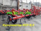 Культиватор КПС КСУ -8,4 (четырехрядный) с пружинной бороной и катком
