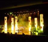 Надувные колонны, конусы и цилиндры