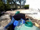 Монтаж автономной канализации, септик