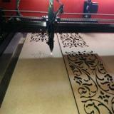 Виготовлення інтер'єрної вивіски з прозорого акрилу та полістиролу золото