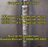 Требуются сварщики MIG MAG в Эстонию (1800-2100 Евро в месяц)